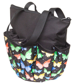 Butterfly 10 Pocket Canvas Bag