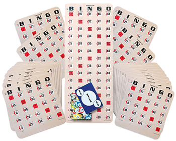 50 Shutter Card Bingo Game