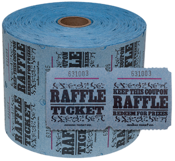 2 Part Raffle Tickets