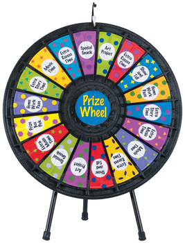 18-Slot Table Top Prize Wheel 31""
