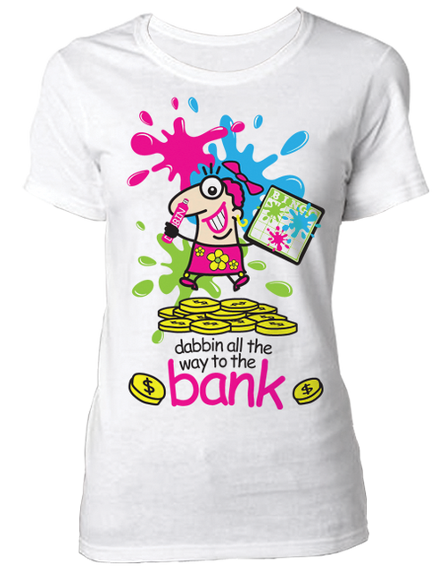 T-Shirt Dabbin All The Way To The Bank