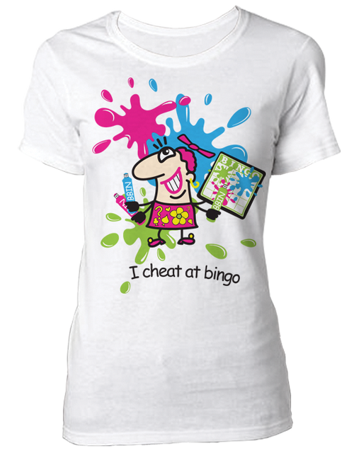 T-Shirt I Cheat At Bingo