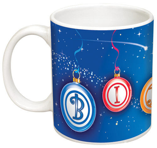 Bingo Ornaments Mug