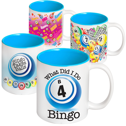 Blue Inside Bingo Coffee Mug