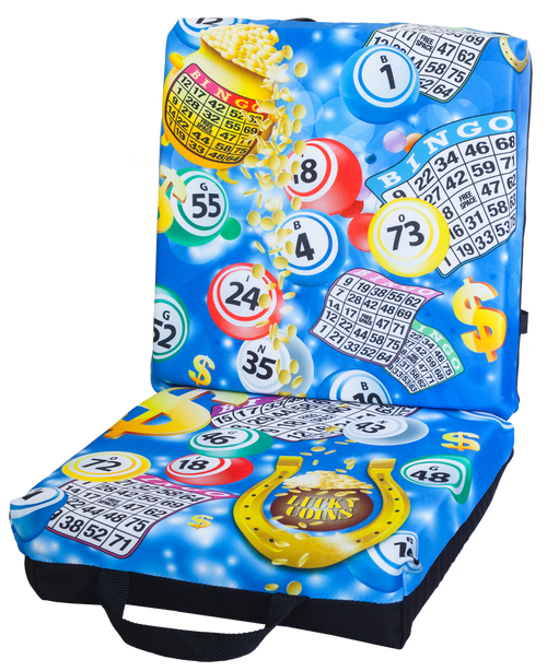 Bingo Blue Double Cushion