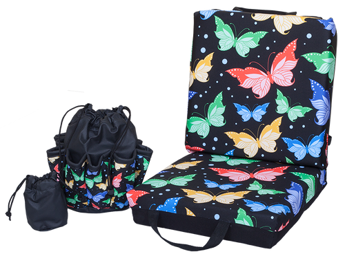 Butterfly Double Cushion & Tote Set