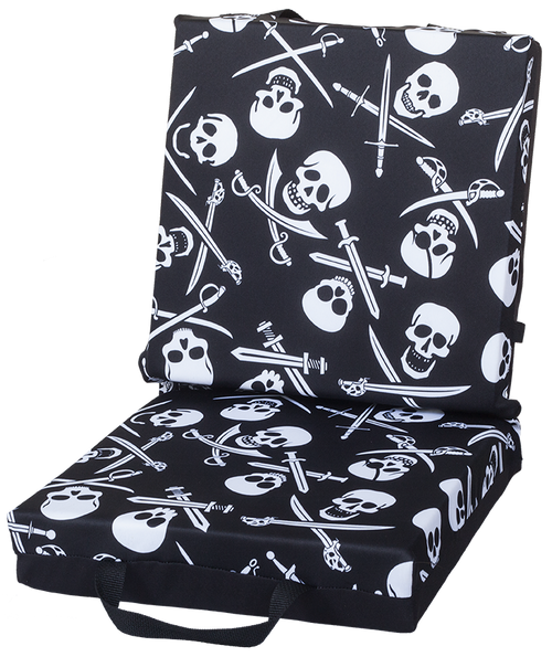Skull and Swords Double Cushion