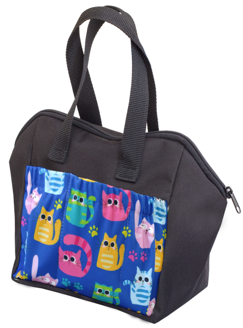Cats 6 Pocket Tote Bag