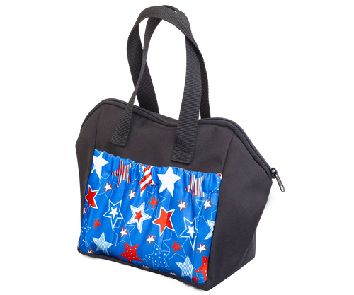 Stars 6 Pocket Tote Bag
