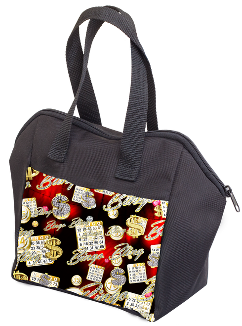 Bingo Bling 6 Pocket Tote Bag