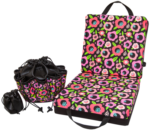 Flower Double Cushion & Tote Set