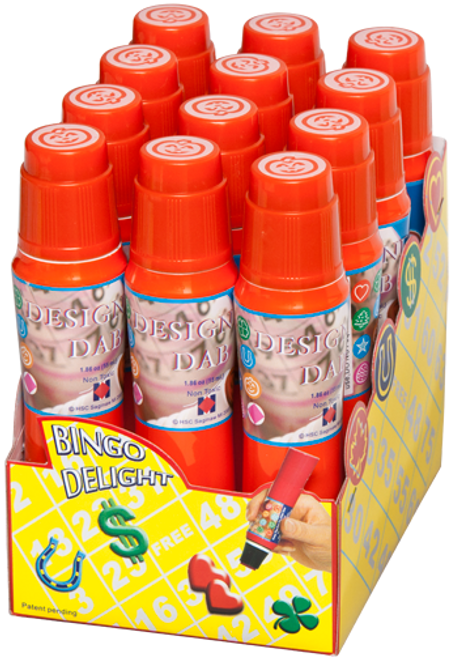 Pumpkin Stamp Bingo Marker / Dauber By The Dozen