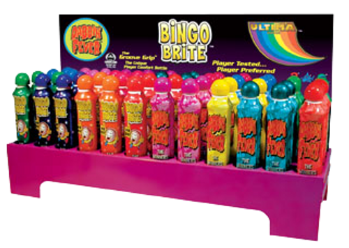 Rectangular Ink Bingo Dauber Display