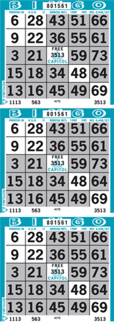 Kite & Tail Bingo Paper by the Case