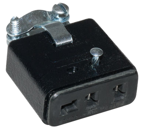 Female 3 Prong Cable Mount Connector
