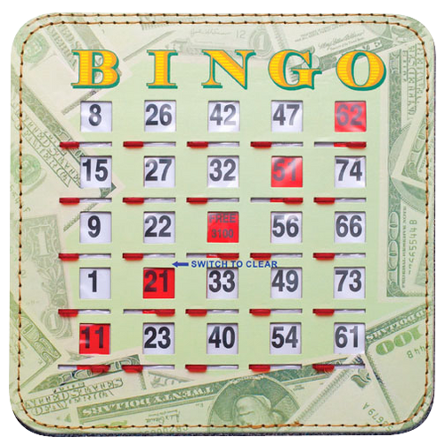 Lucky Money Bingo Shutter Cards 10, Quick Clear