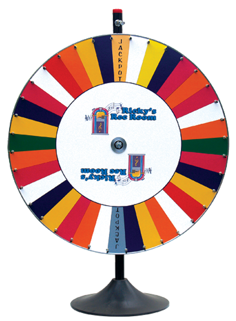Custom Promotional Wheel