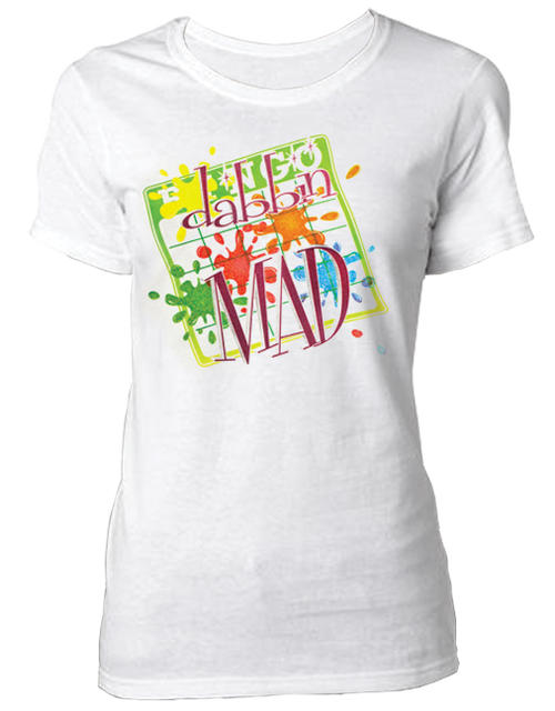 T-Shirt Dabbin Mad Glitter Ink