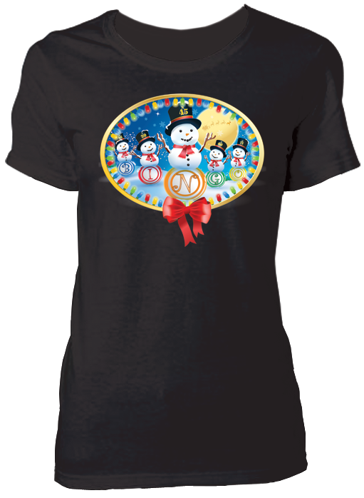 T-Shirt Christmas Snowmen Shirt