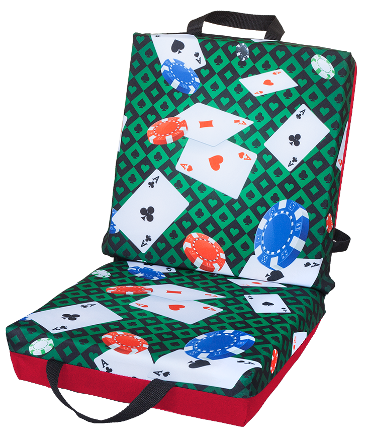 Playing Cards Double Cushion