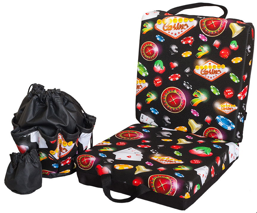 Vegas Double Cushion & Tote Set