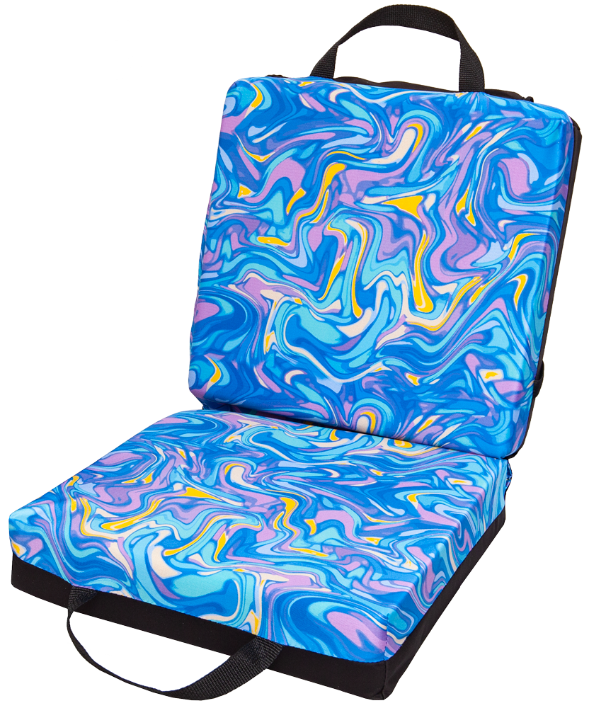 Psychedelic Double Cushion