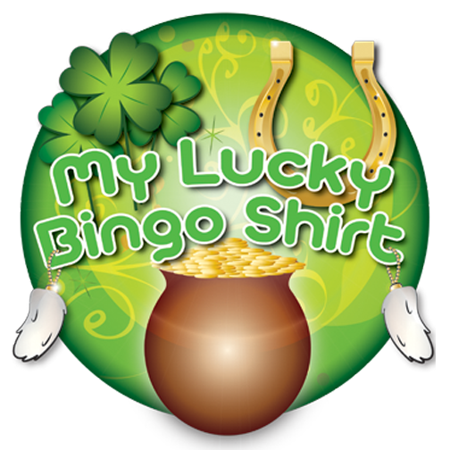 T-Shirt My Lucky Bingo Shirt, Lucky Green