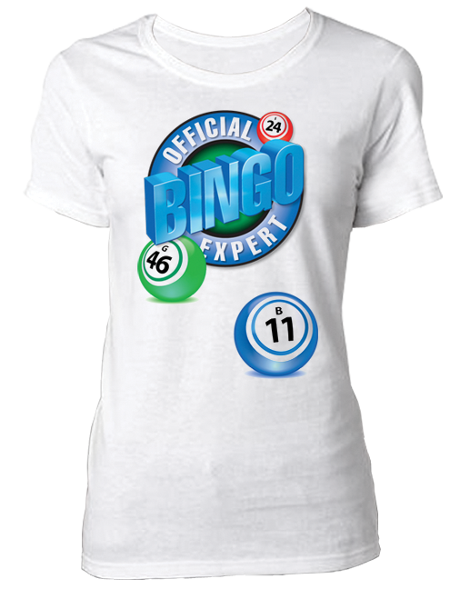 T-Shirt Official Bingo Expert