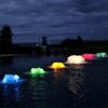 Coloured lenses for composite light kit- surface aerators