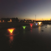 Coloured lenses for composite light kit- fountains