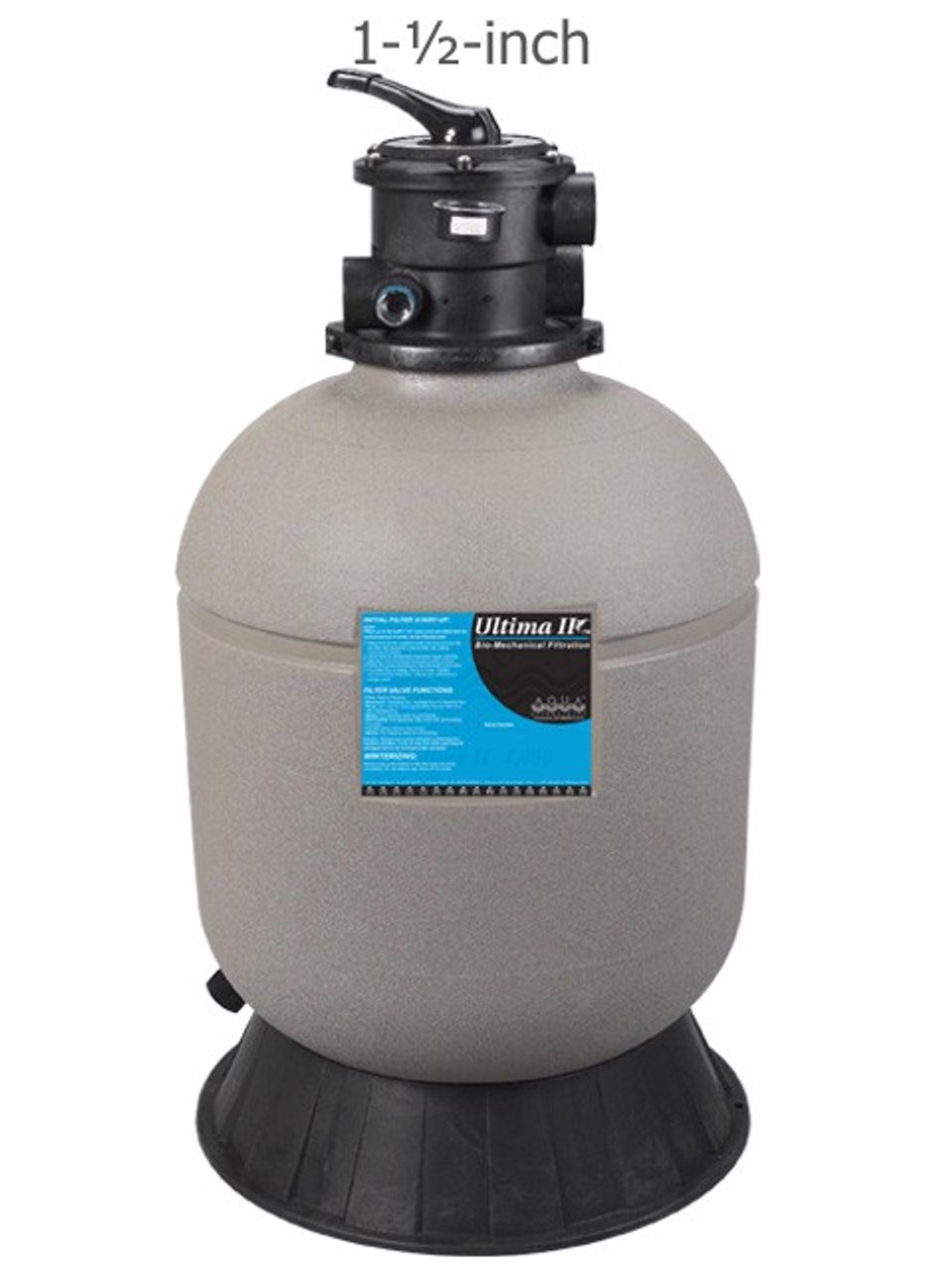 "Aqua UV Ultima II FIlter 10,000 with 2"" Valve"