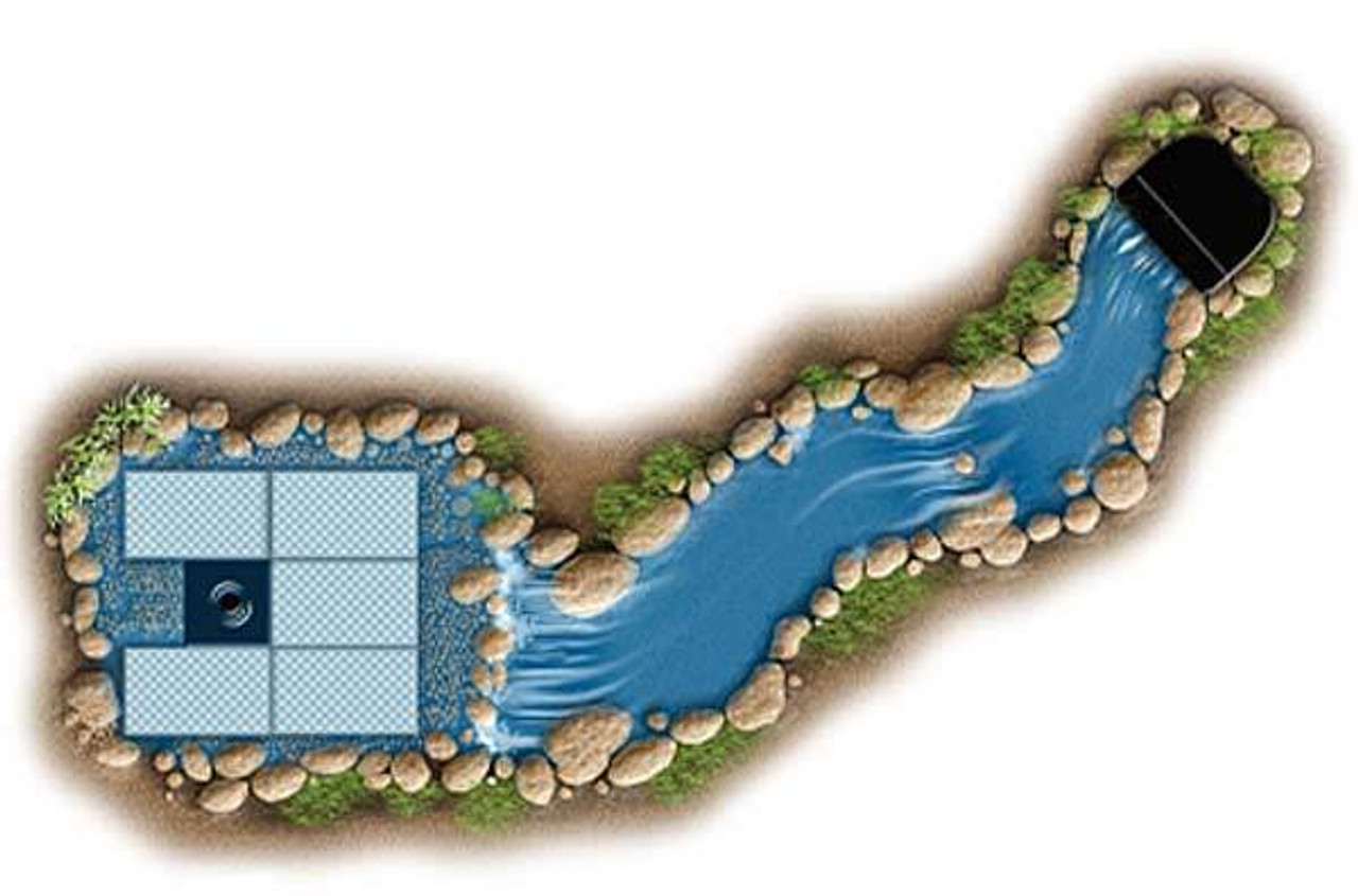 Aquascape Pondless Waterfall Kit - Medium