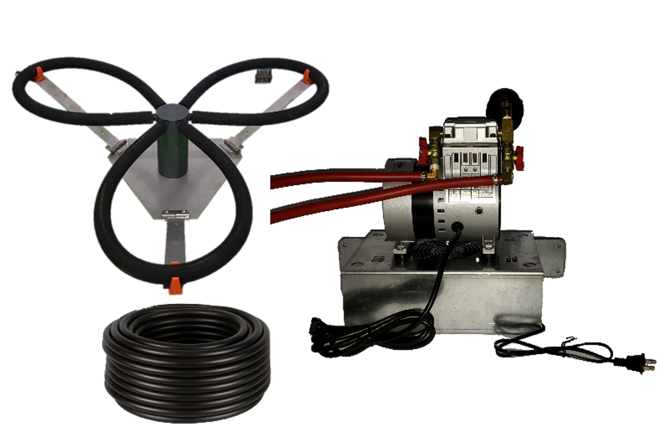 Can-air pond aeration systme