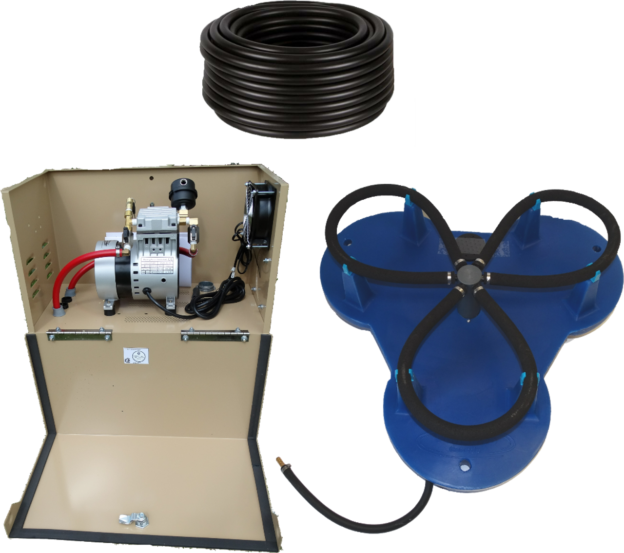Can-Air Diffused Aeration System - WITH CABINET