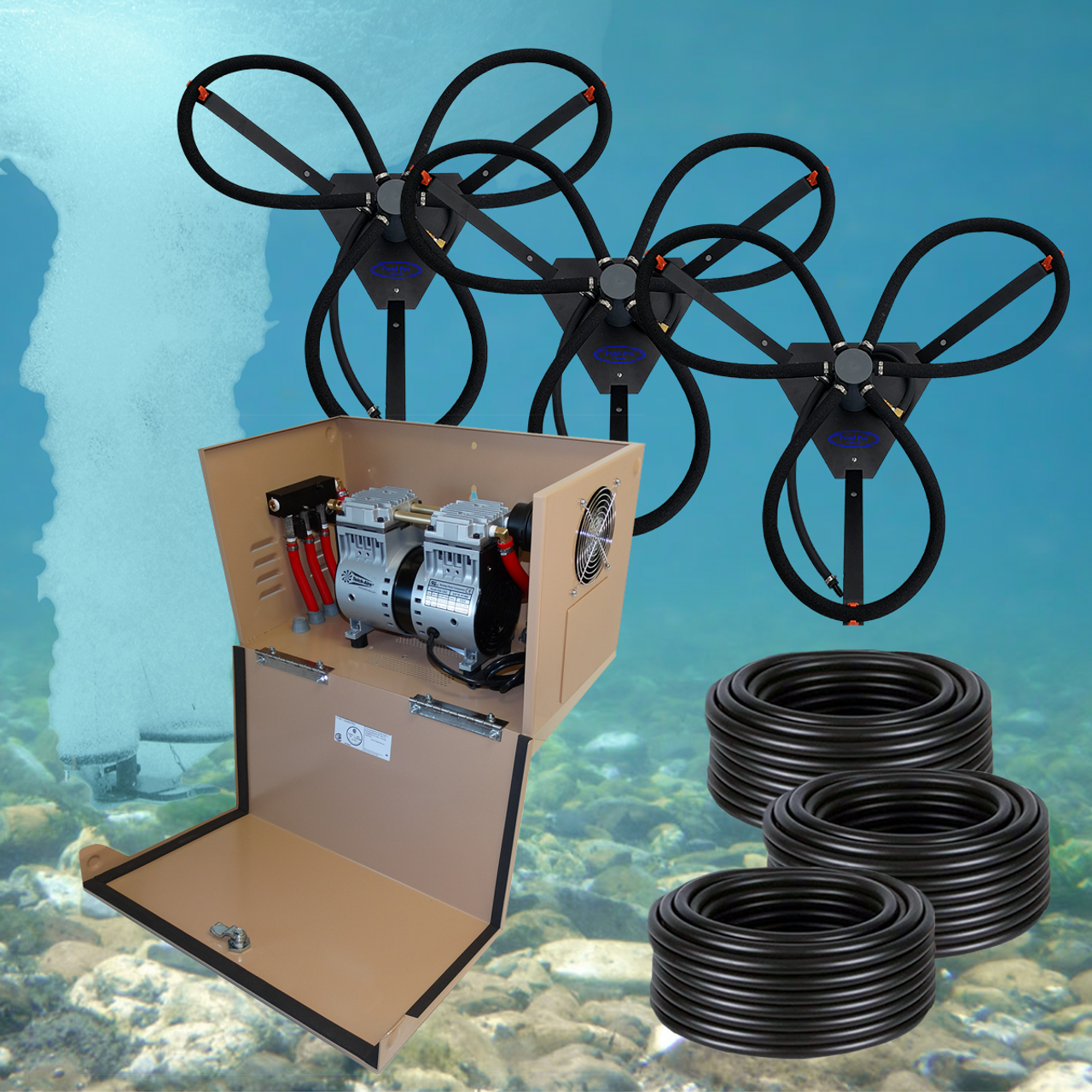 Can-Air SS Diffused Aeration System with Cabinet