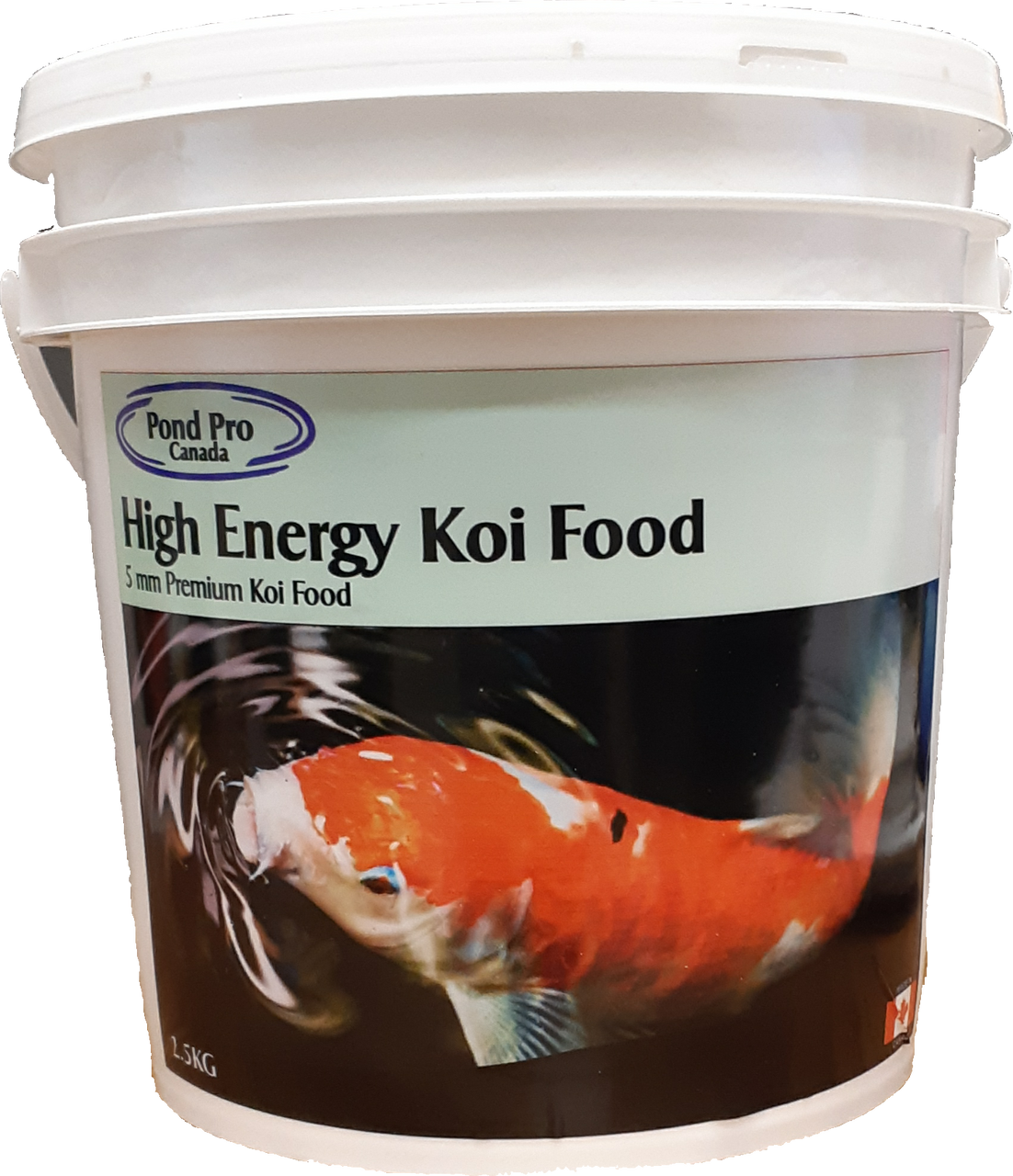 Premium High Energy Floating Koi Food 2.5kg - 5mm
