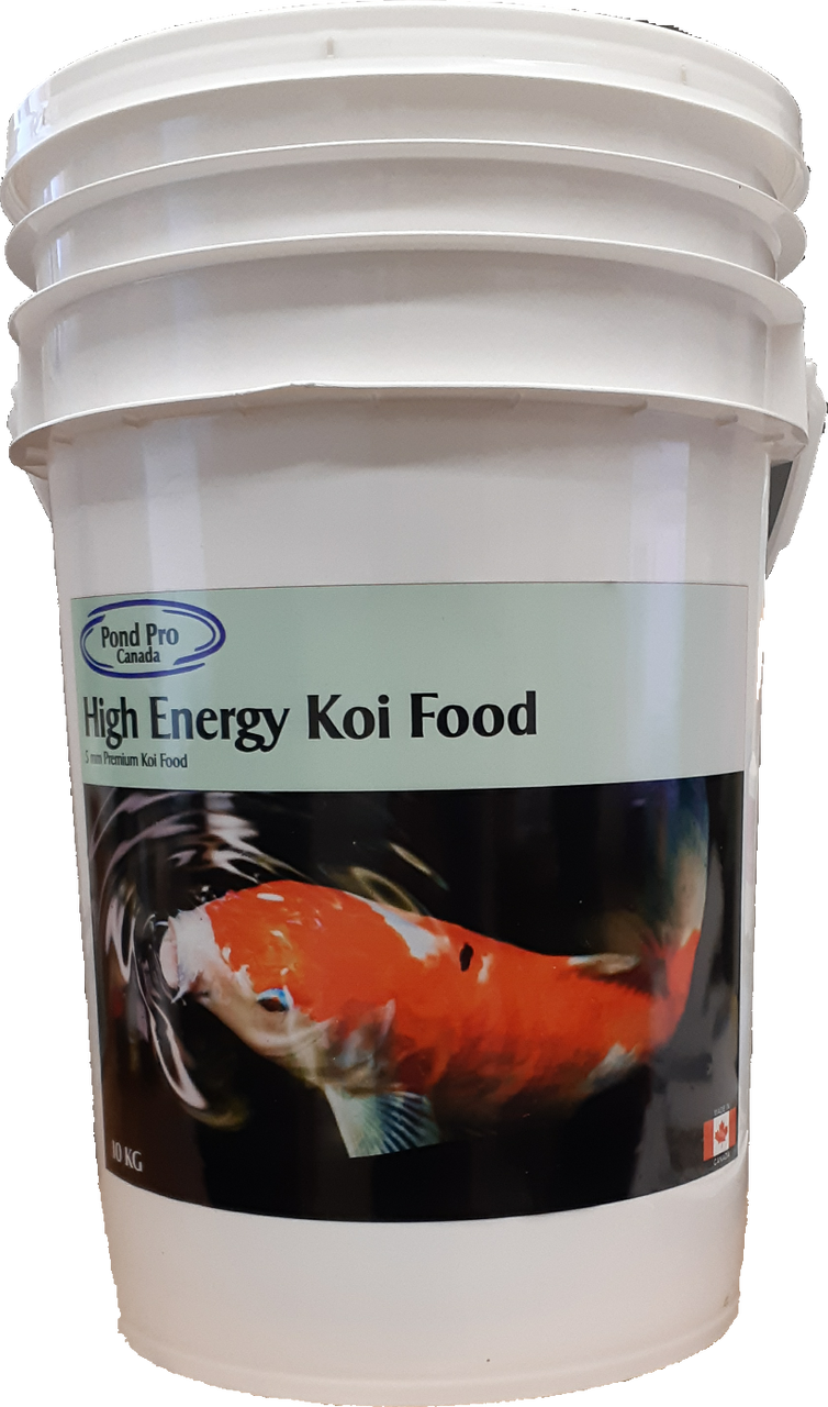 Premium High Energy Floating Koi Food 10kg - 5mm