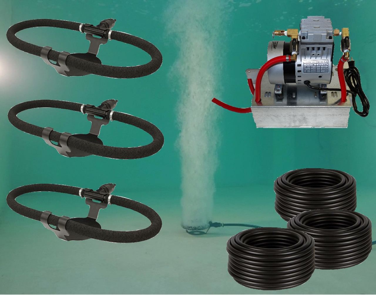 Can-Air ECO 3 Pond Aeration System