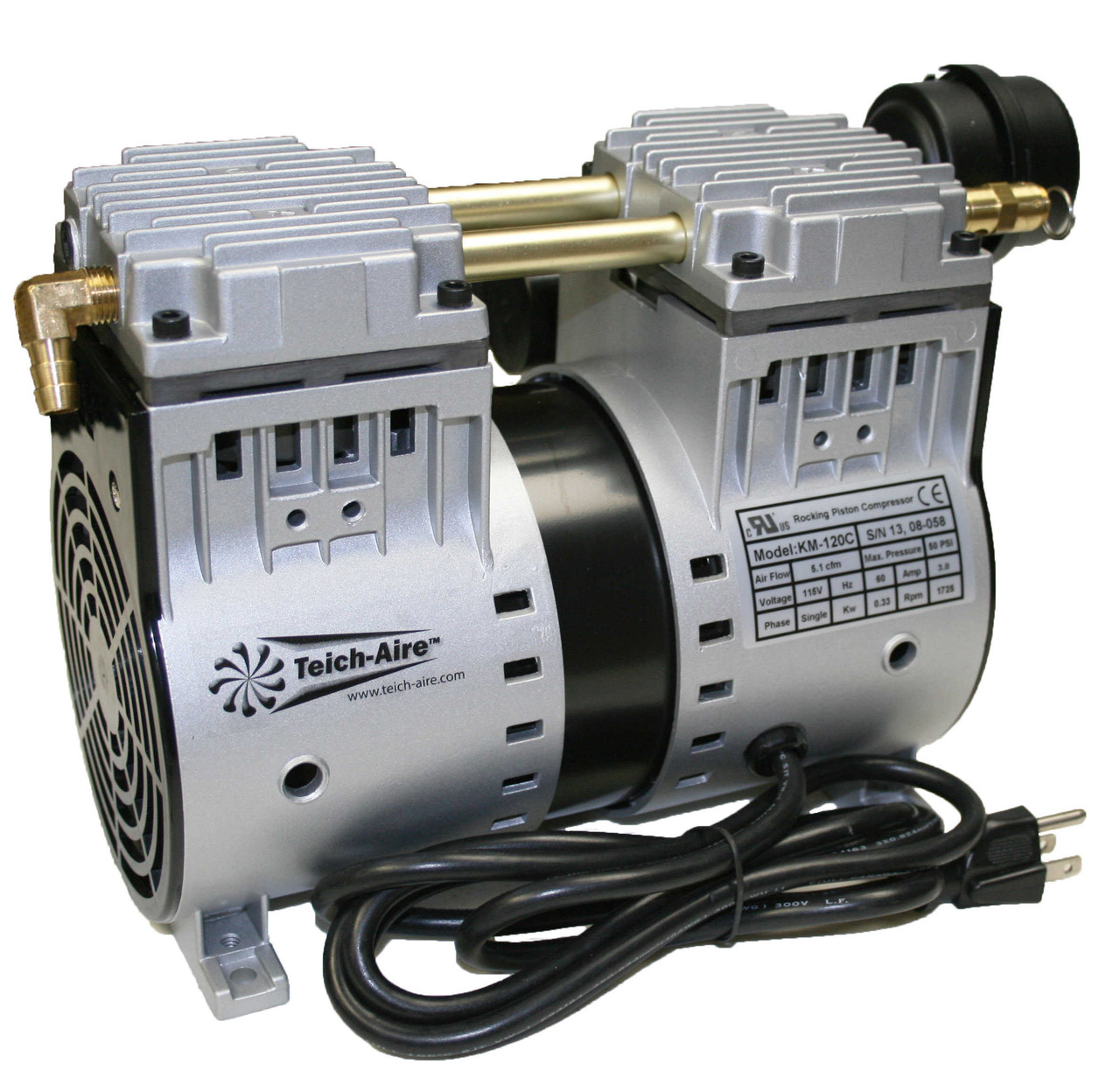 KM-120 1/2HP Air Compressor
