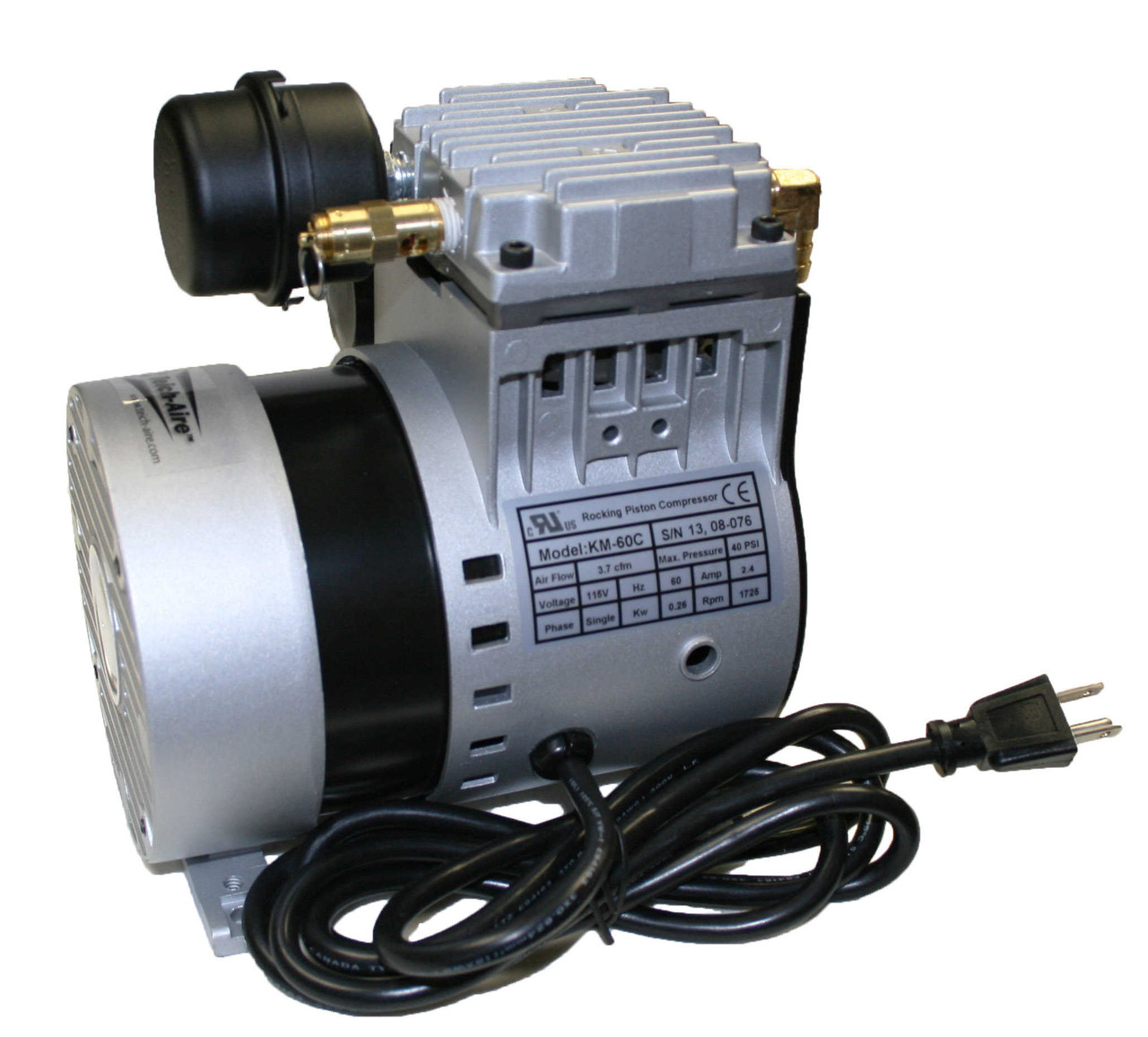KM-60 1/4 HP Air Compressor