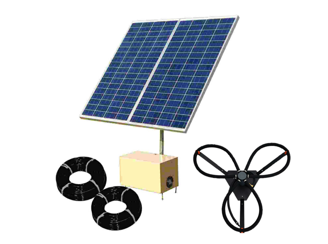 Can-Air Solar Pond Aeration