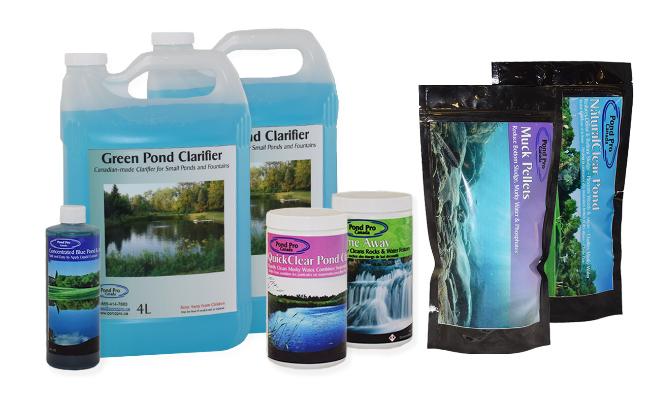 complete pond pro bacteria and water treatment pond maintenance kit for 5000 gallon pond
