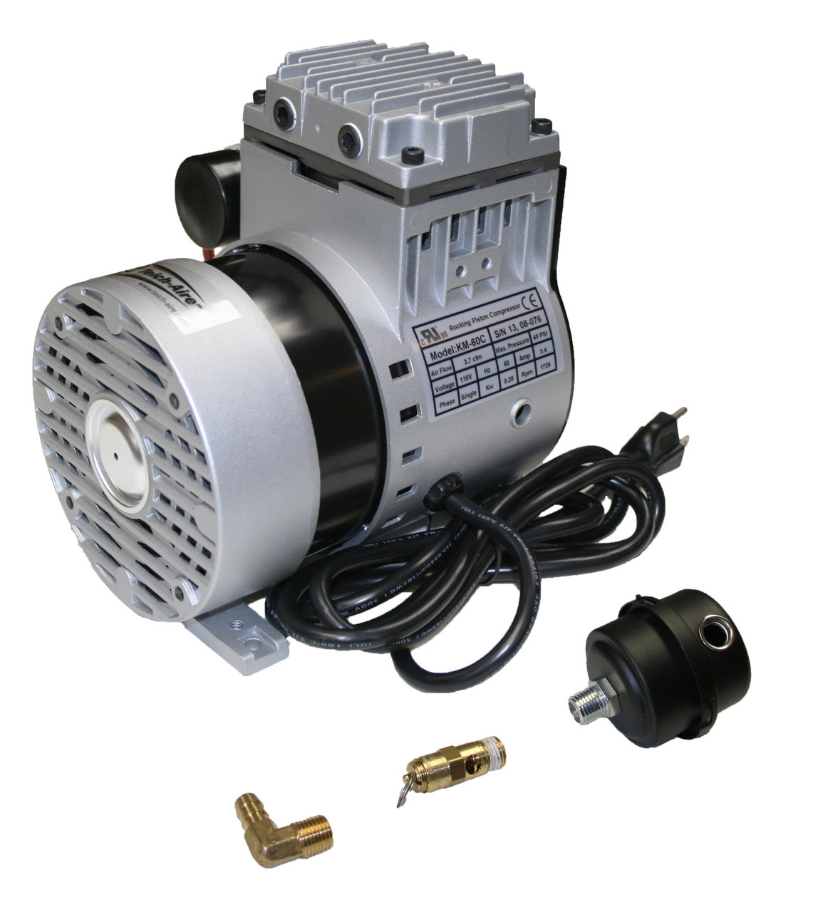 Kasco KM-60 1/4 hp Piston Pump 3.7 cfm