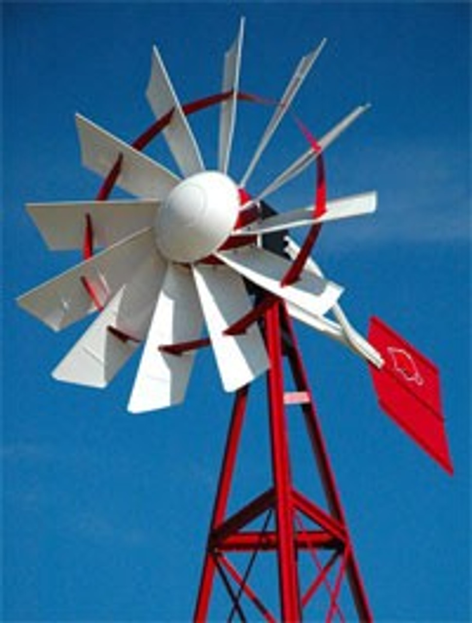 OWS Powder Coated windmill 20'