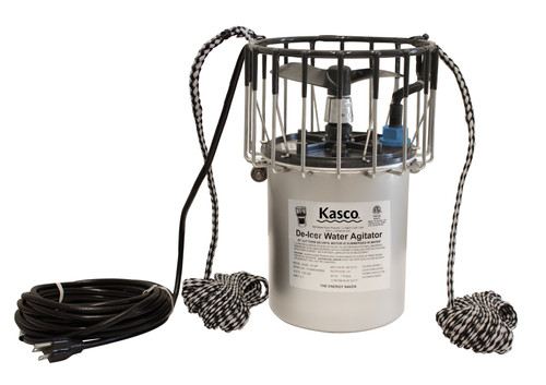 kasco marine 3400hd de-icer for dock, barge, shoreline, boat and marina de-icing. Great for private or industrial applications for harsh Canadian climates