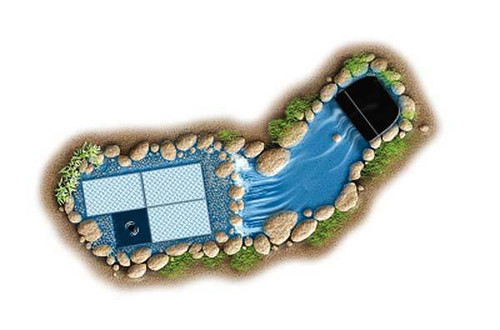 Aquascape Pondless Waterfall Kit - Small