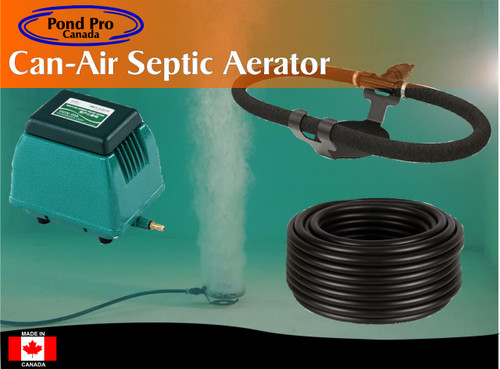 Can-Air Septic Aerator for Residential Sewage Systems