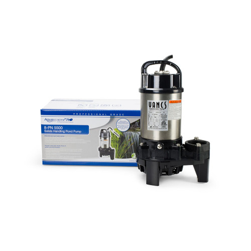 aquascape 8-PN 5500 Solids-Handling Pond Pump for ponds, water kgardens, waterfalls, and water features  full package available in canada