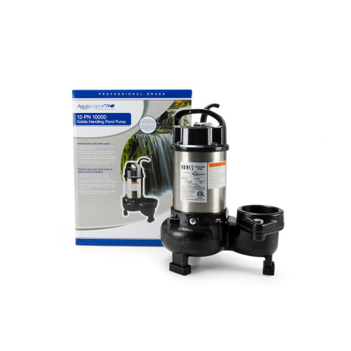 aquascape 12-PN 10000 Solids-Handling Pond Pump for ponds, water kgardens, waterfalls, and water features  full package available in canada
