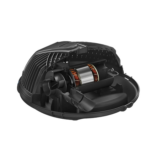 Aquascape AquaForce® 4000-8000 Adjustable Flow Solids-Handling Pond Pump fully submersible solids pump for ponds and water features available in canada internal components and view of pump